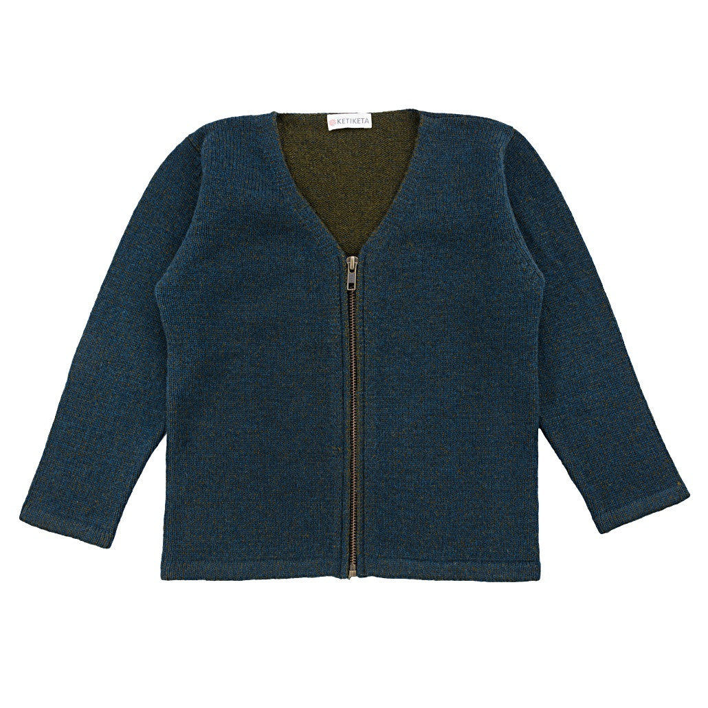 Keti Keta Sailor Blue Zip Cardigan - Ladida