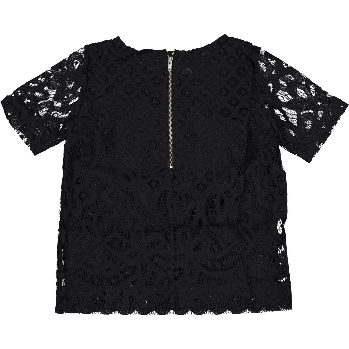 Remix Black Audrey Lace Blouse