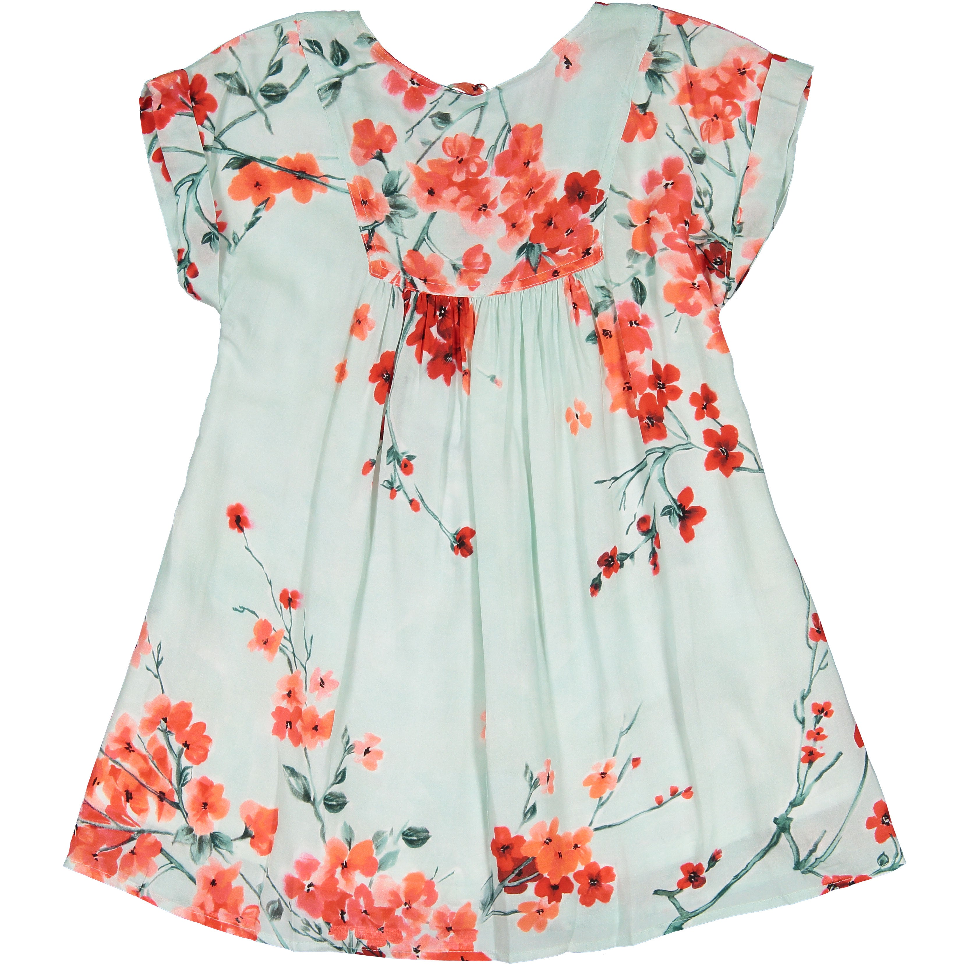 Maan Mint Blossom Dress - Ladida