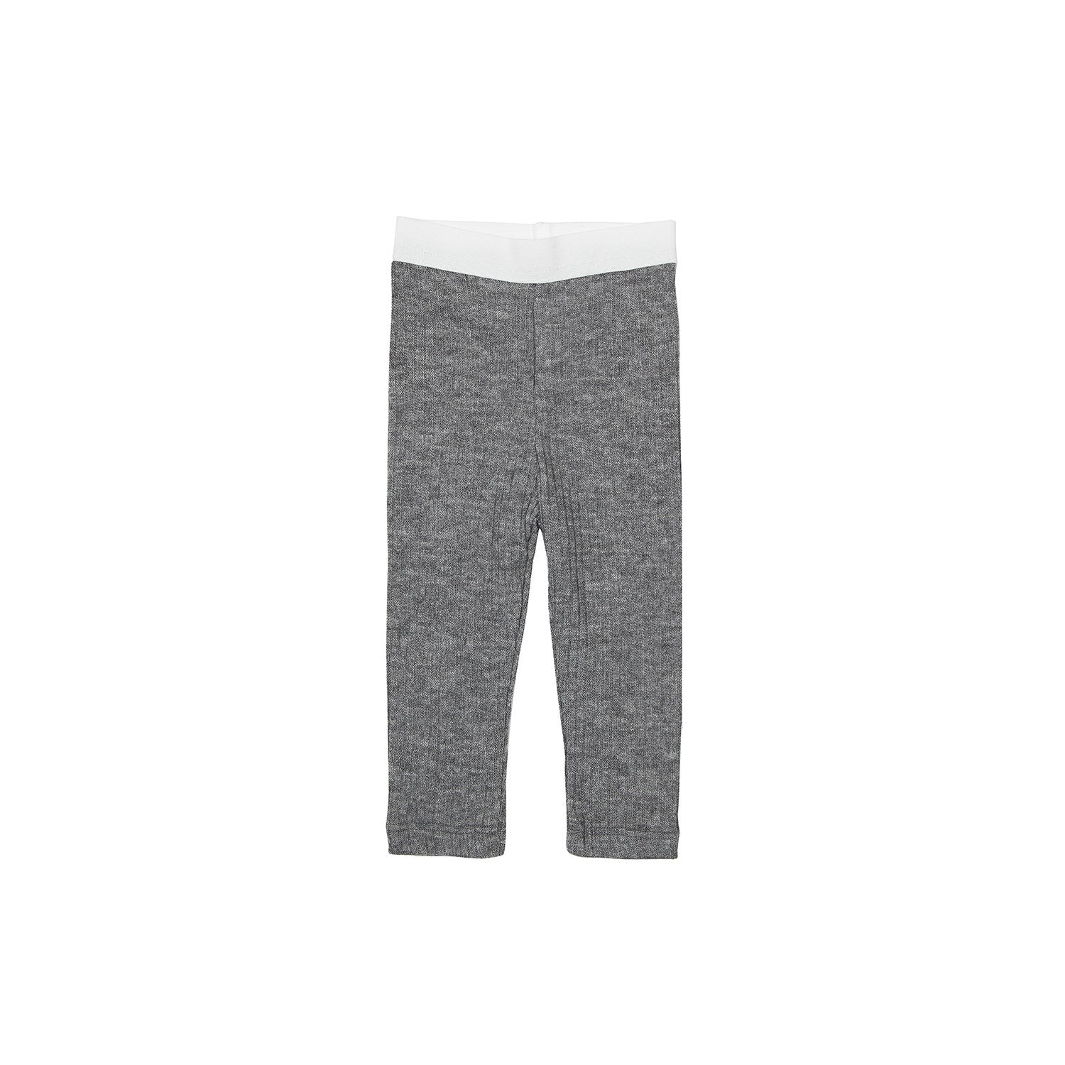 Bene Bene Charcoal Ribbed Knit Leggings