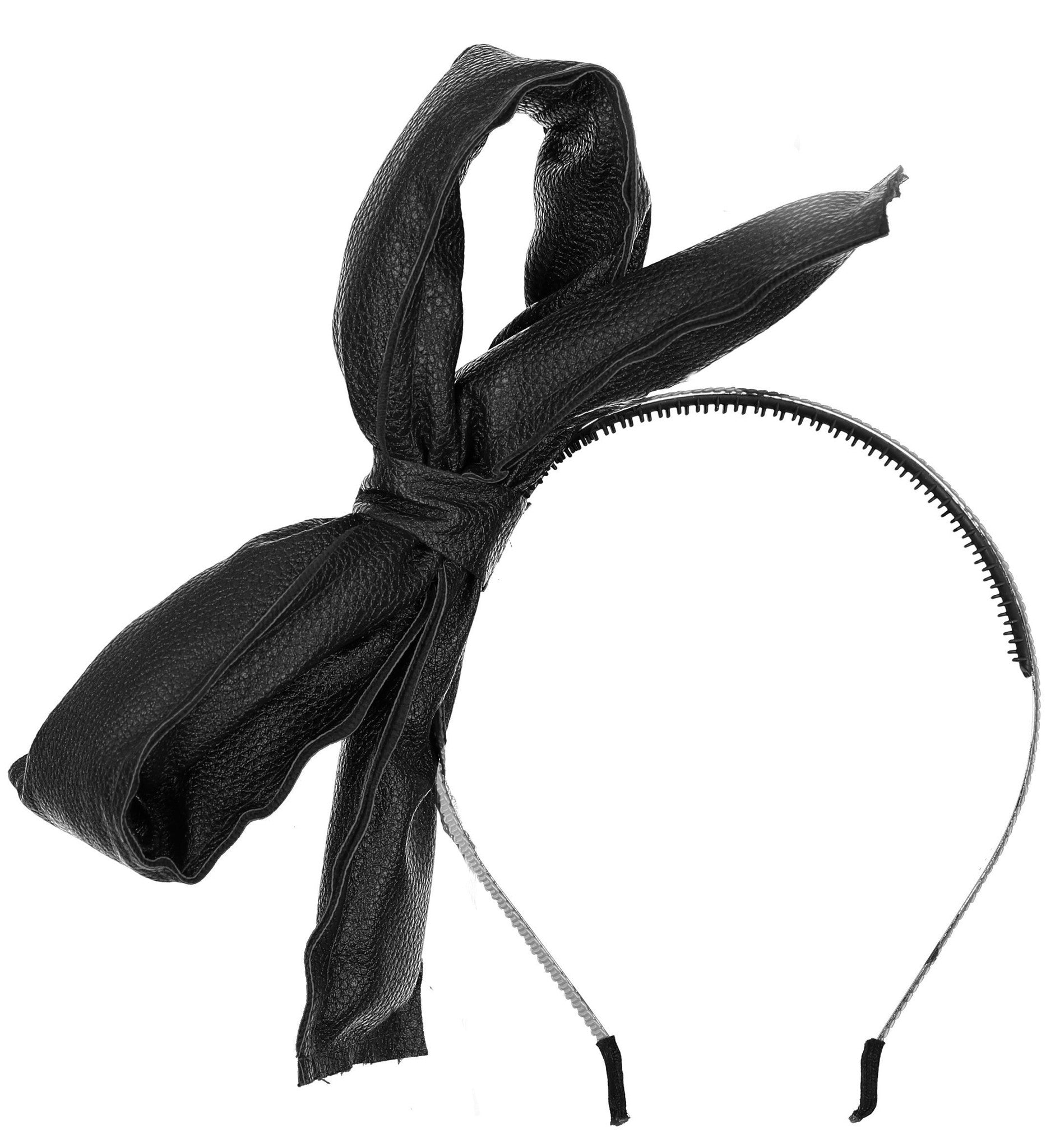 Knot Hairbands Black Loop Headband - Ladida