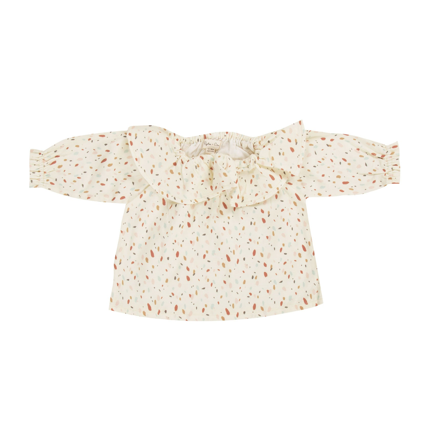 Rylee and Cru Confetti Collar Blouse - Ladida