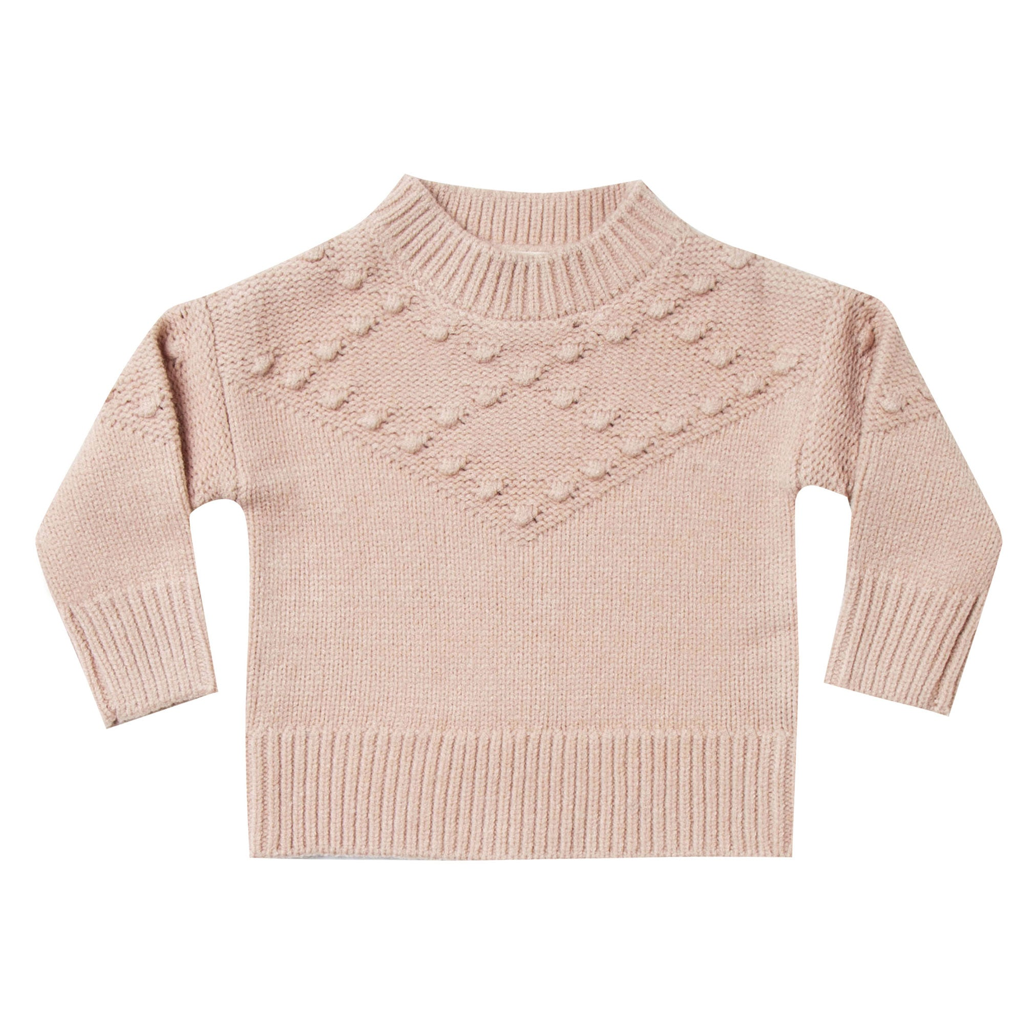 Rylee and Cru Rose Bobble Sweater