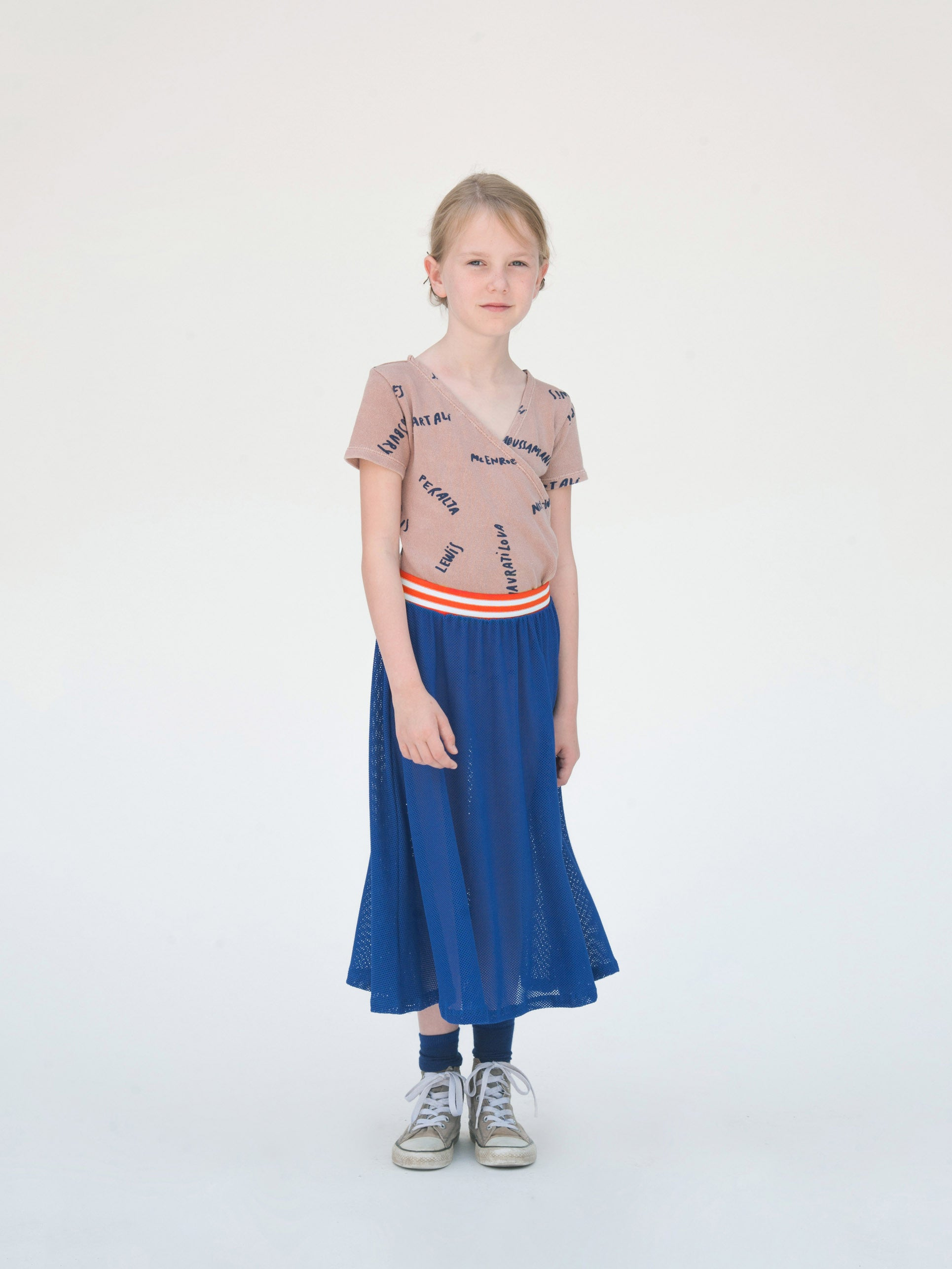 Bobo Choses Blue Nadia Midi Skirt - Ladida