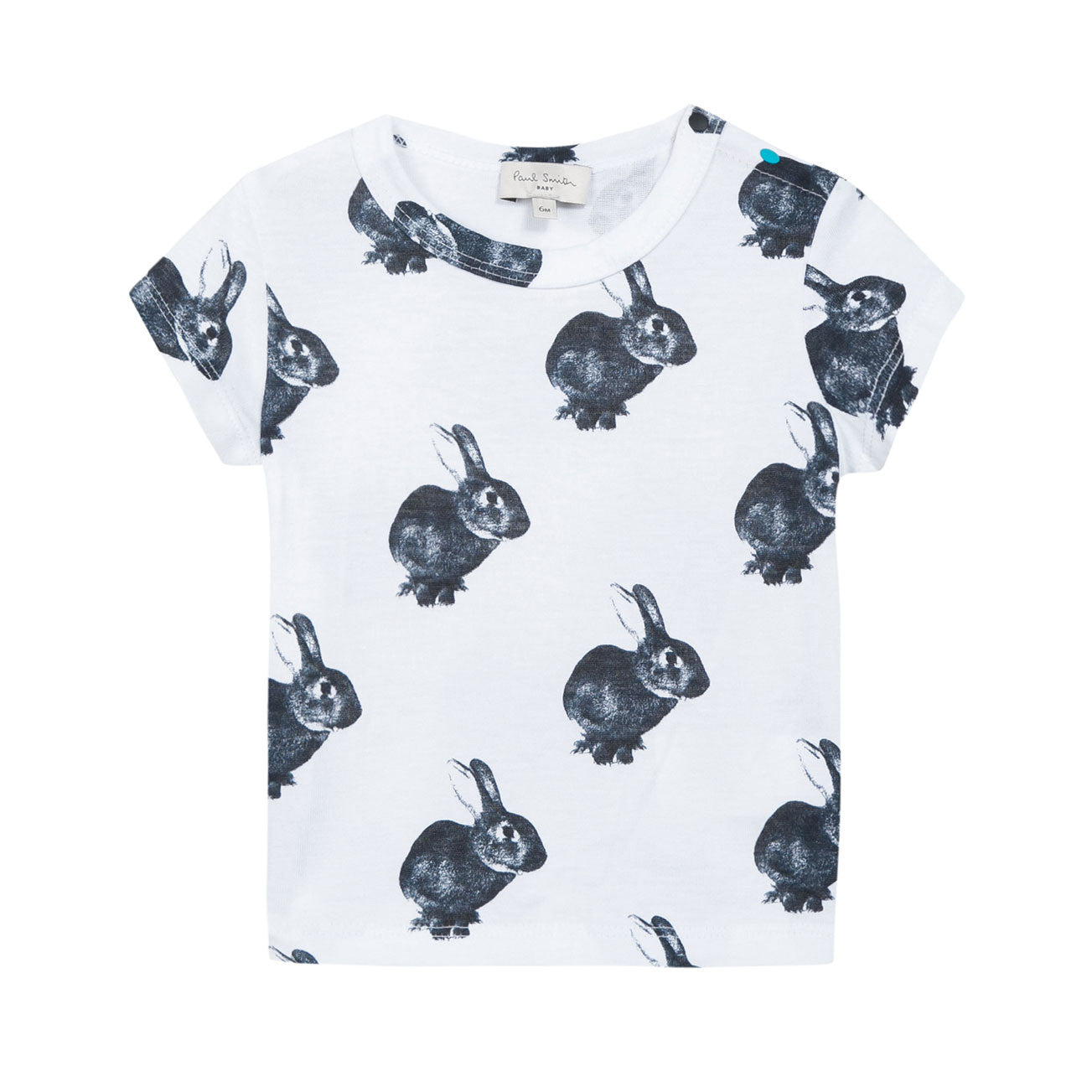 Paul Smith Baby White Rabiit T