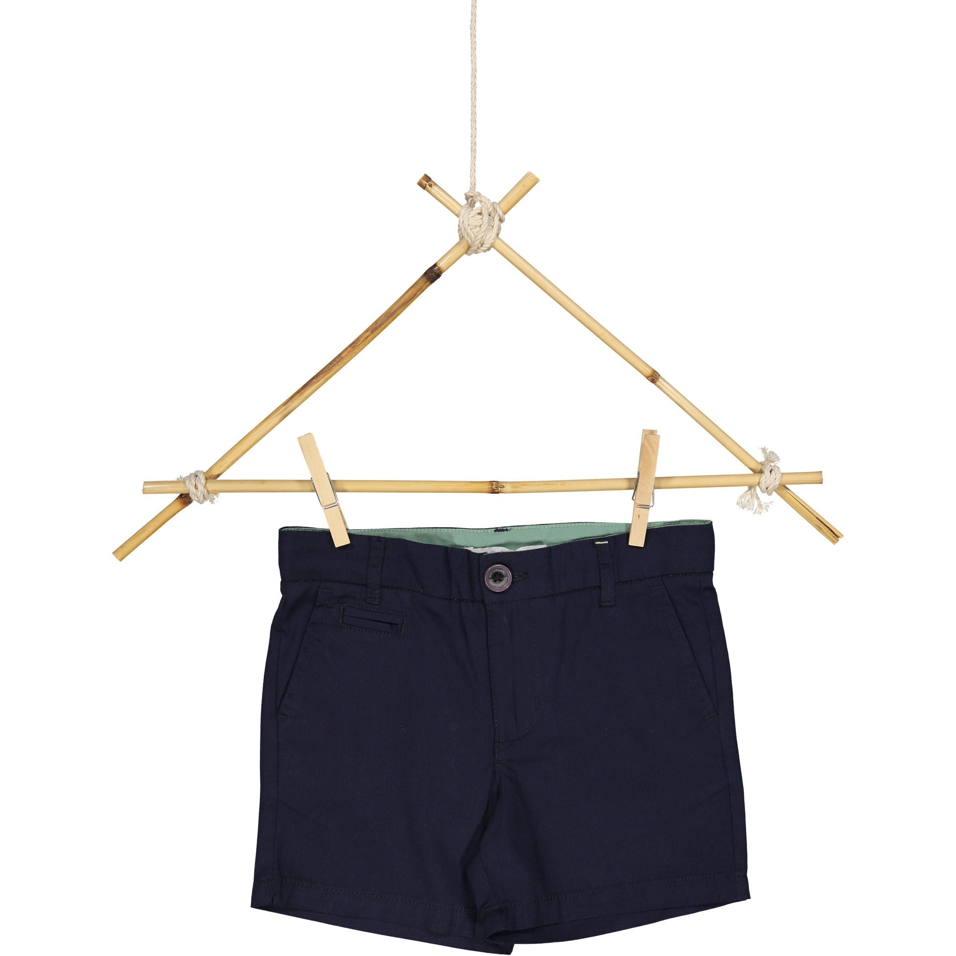 Coco Blanc Midnight Blue Chino Shorts