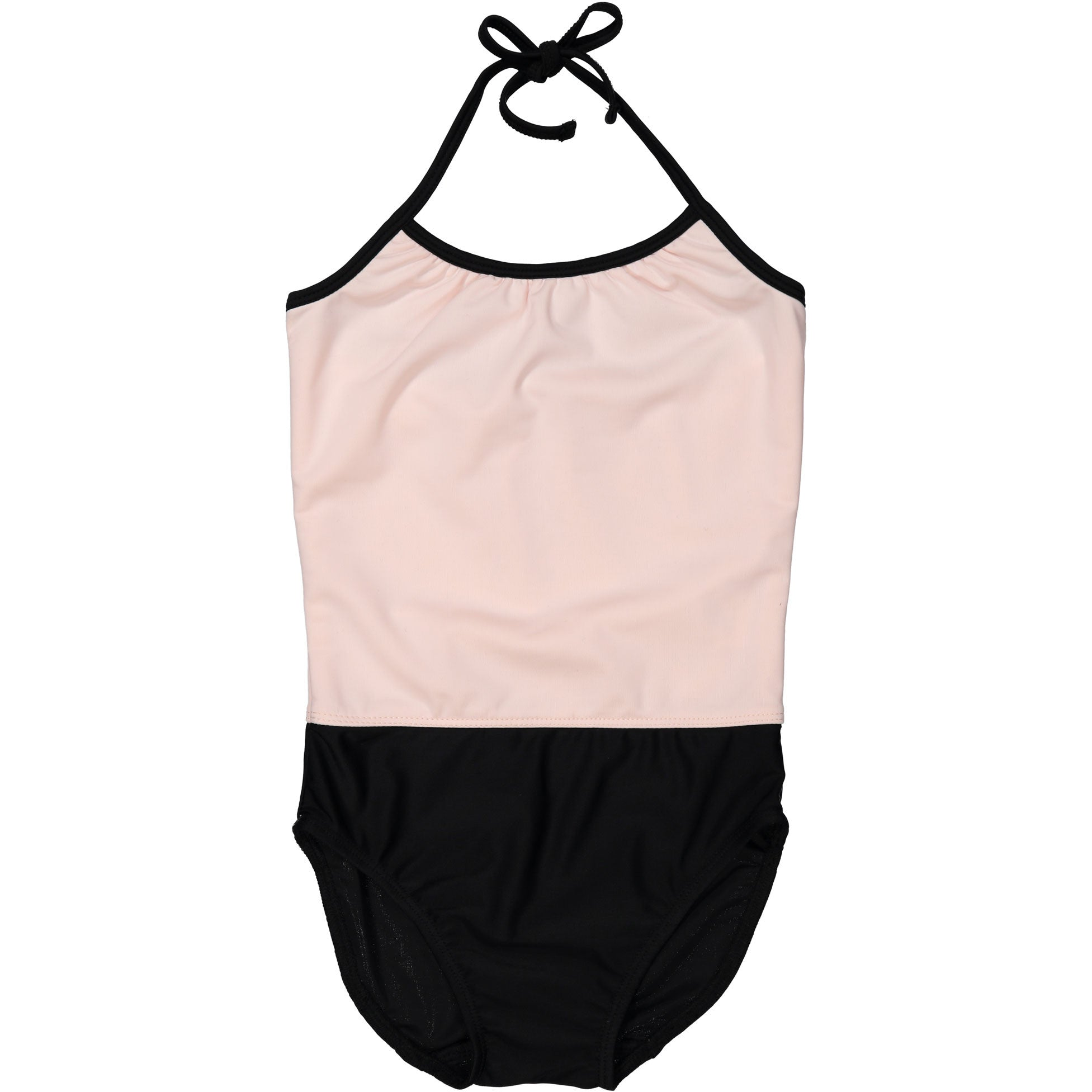 Coco Blanc Pale Pink/Black Swimsuit - Ladida