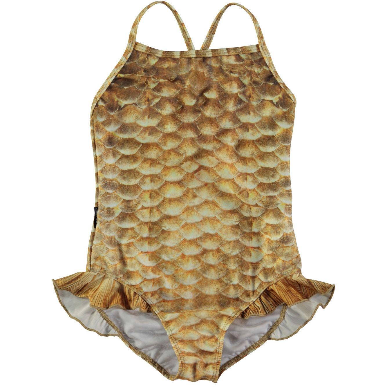 Molo Gold Seashell Swimsuit