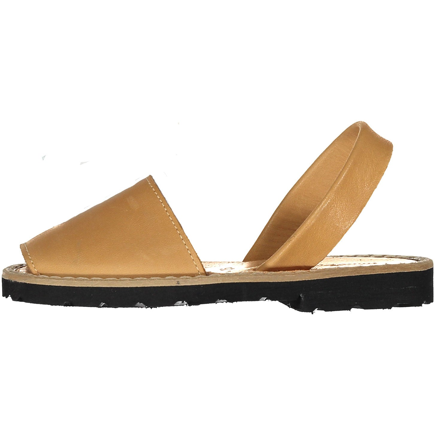 Minorquines Natural Leather Sandals