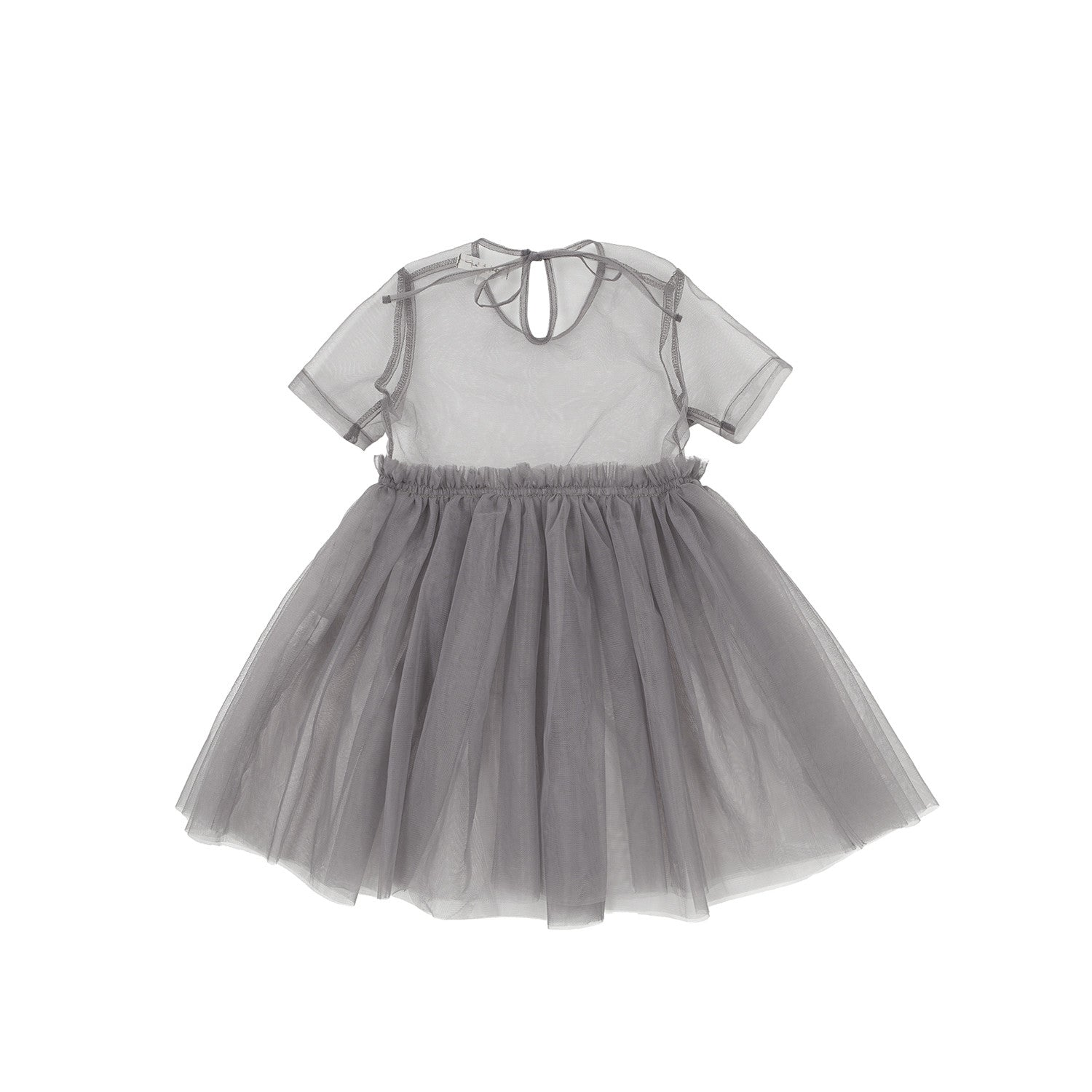 Bene Bene Grey Cotton Candy Tulle Dress - Ladida