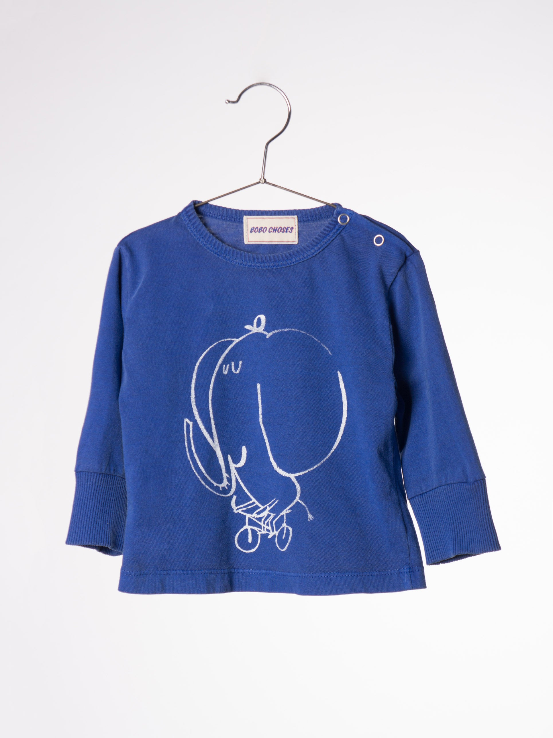 Bobo Choses The Cyclist L/S Baby T-shirt - Ladida