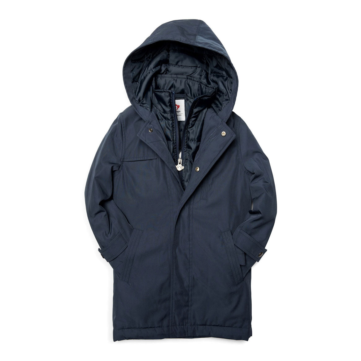 Appaman Navy Blue New Gotham Coat