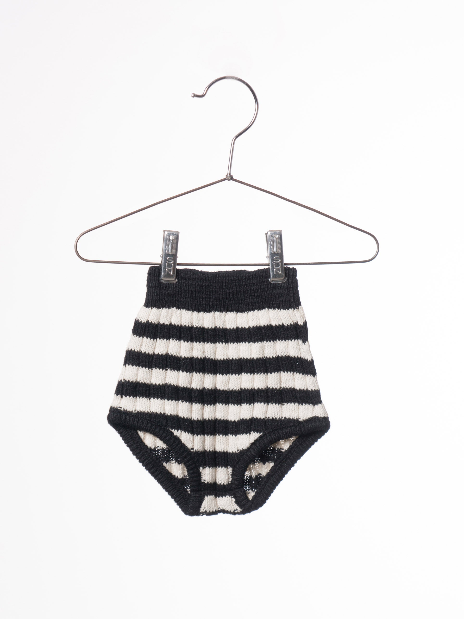 Bobo Choses Black Baby Knitted Culotte - Ladida