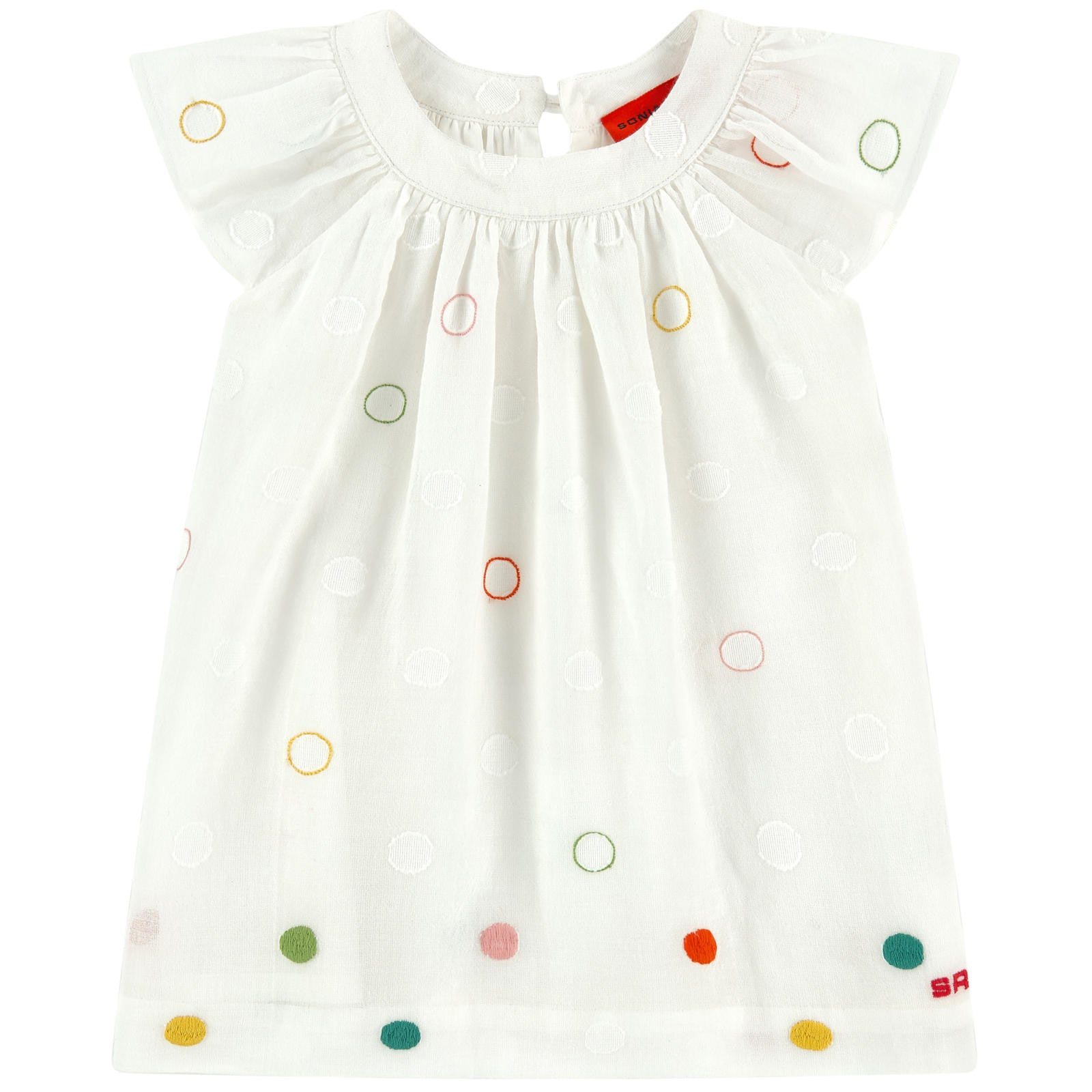 Sonia Embroidered Dot Baby Set - Ladida