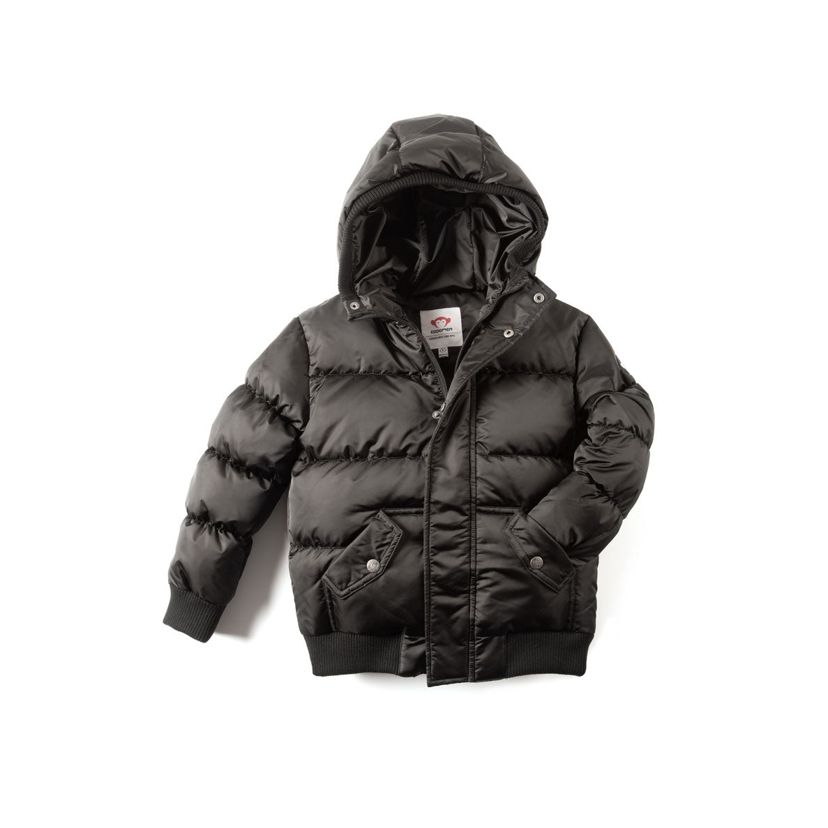 Appaman Black Puffy Coat - Ladida