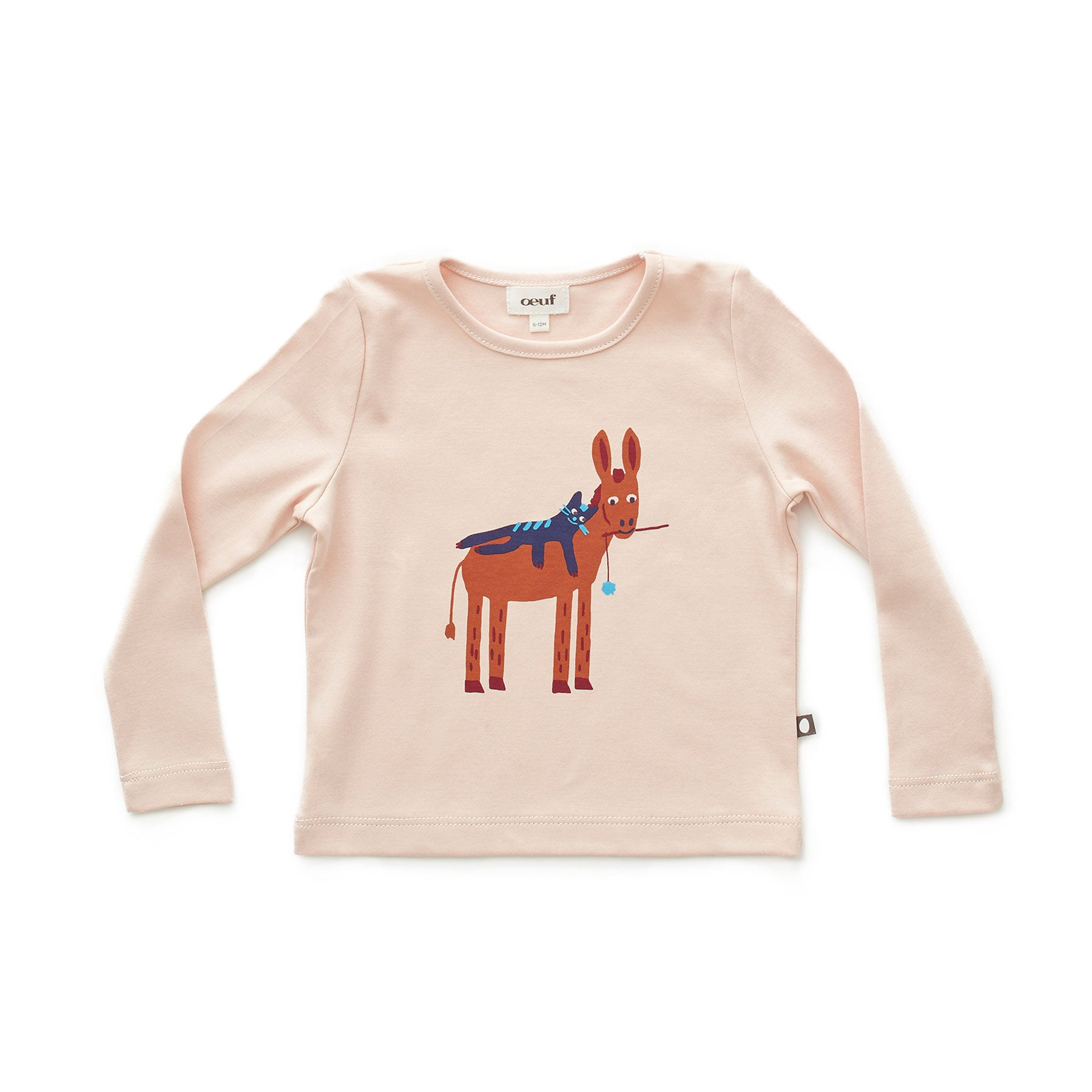 Oeuf Light Pink Donkey Tee - Ladida