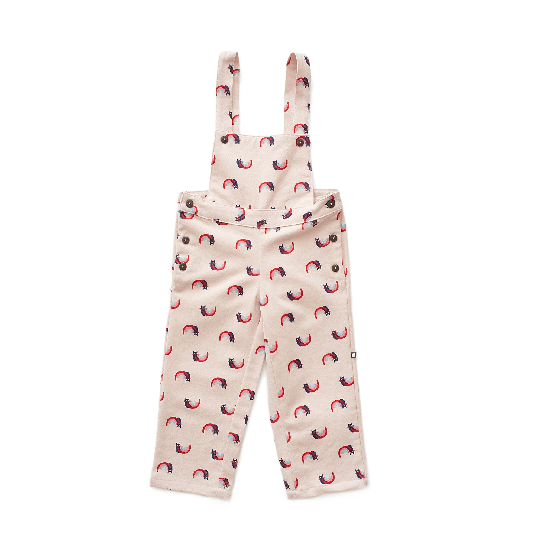 Oeuf Rainbow Cats Overalls - Ladida