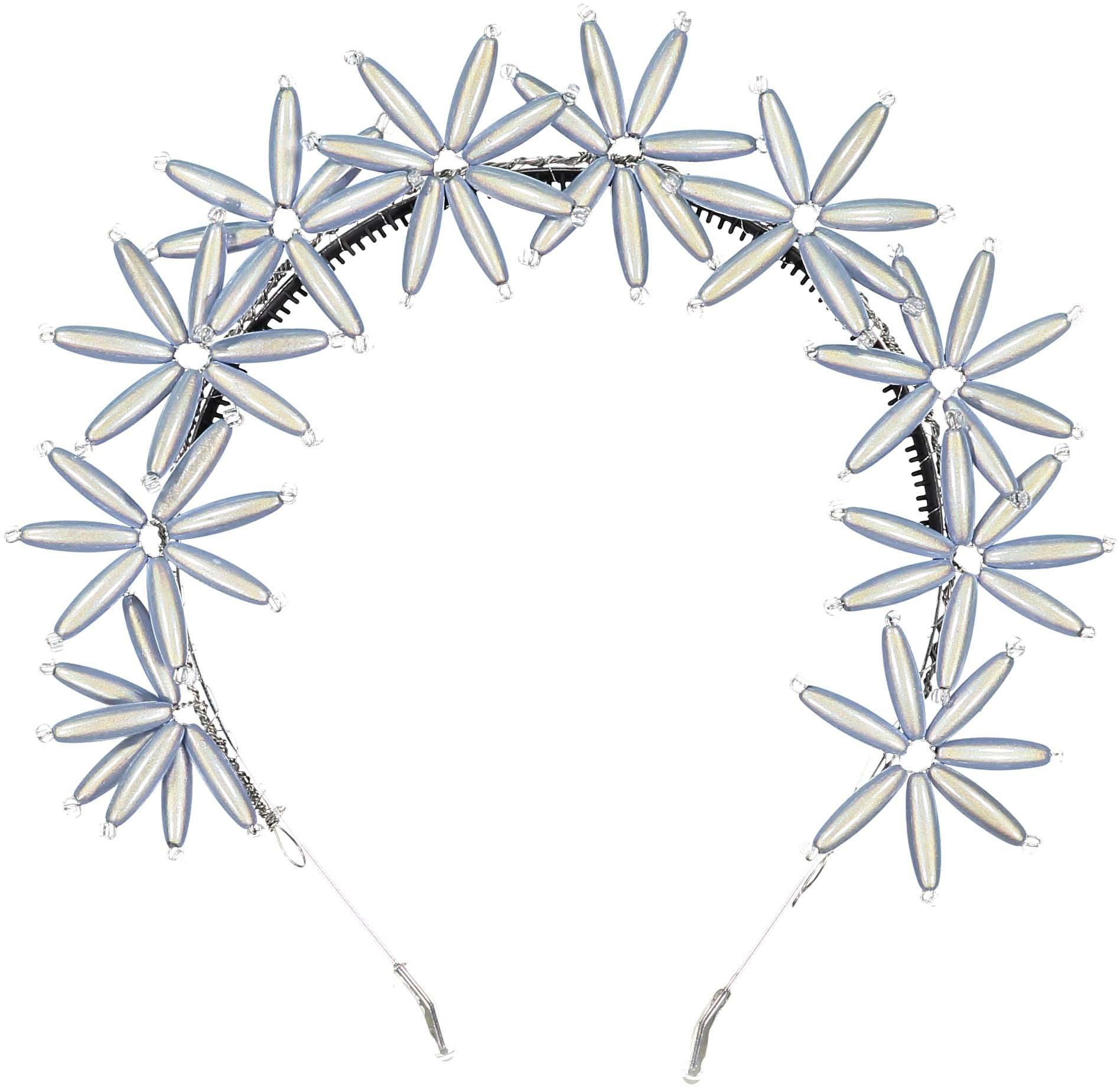 Knot Hairbands Ice Blue Flower Burst Headband - Ladida