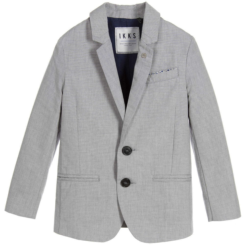 IKKS Grey Suit Jacket