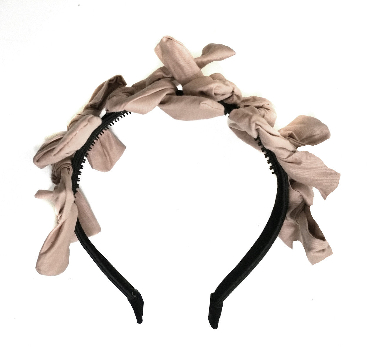 Amour Bows Tan Joy Headband - Ladida
