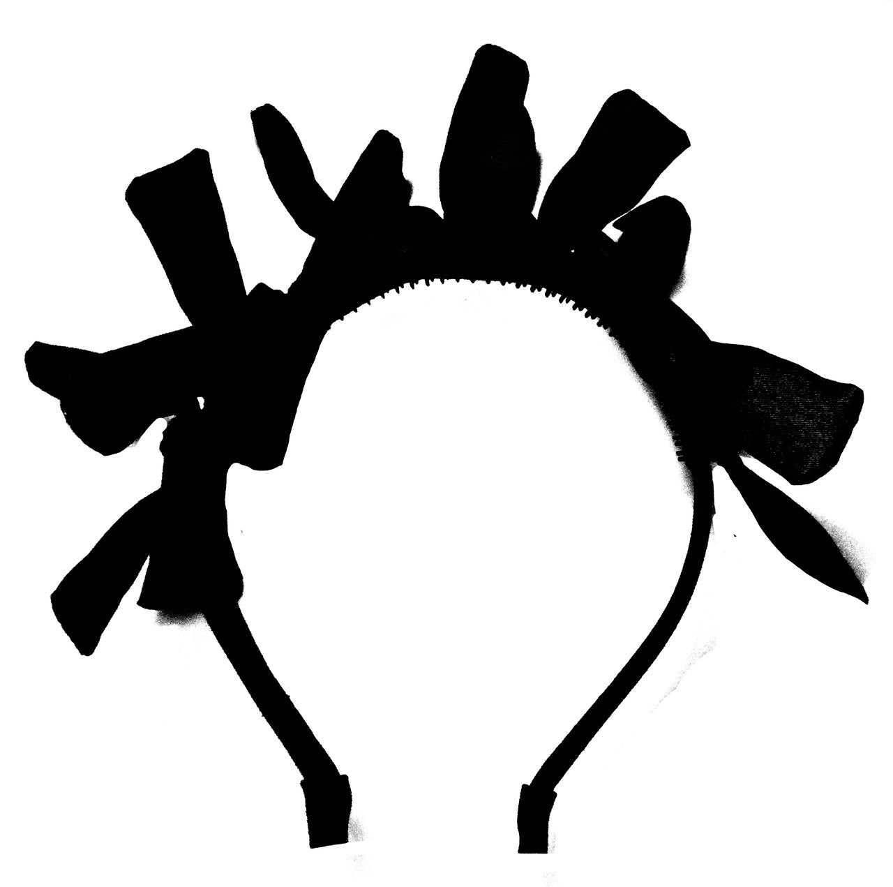 Amour Bows Black Joy Headband - Ladida