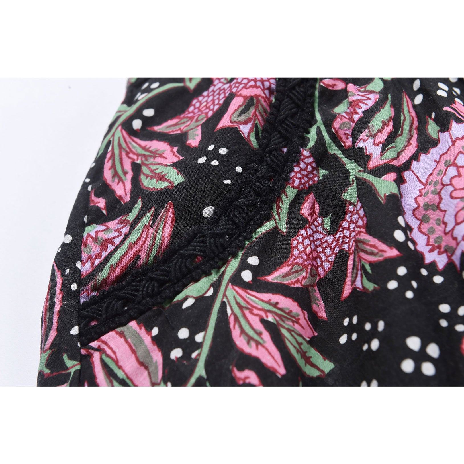 Louise Misha Black Flower Skirt - Ladida