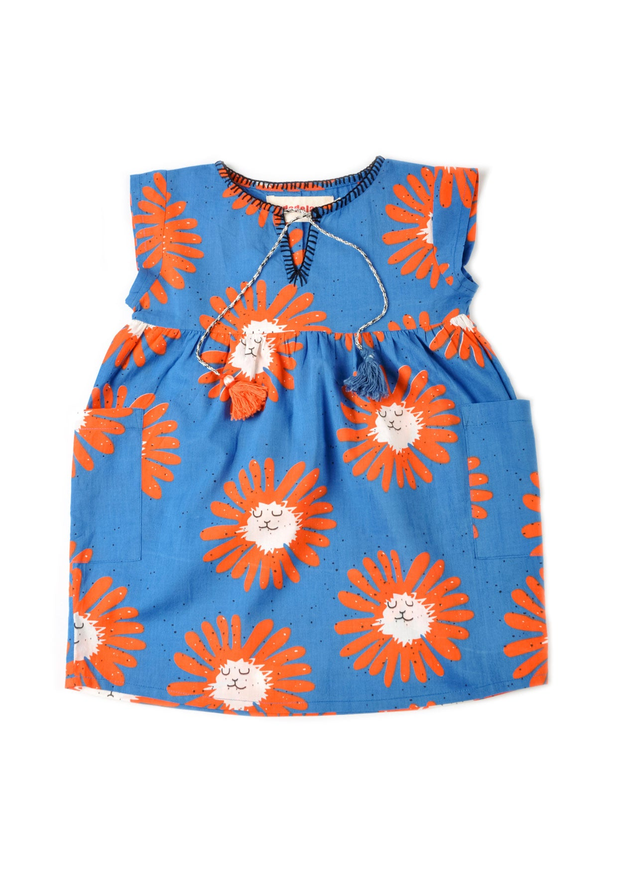 Nadadelazos Little Dandelion Tunic Dress