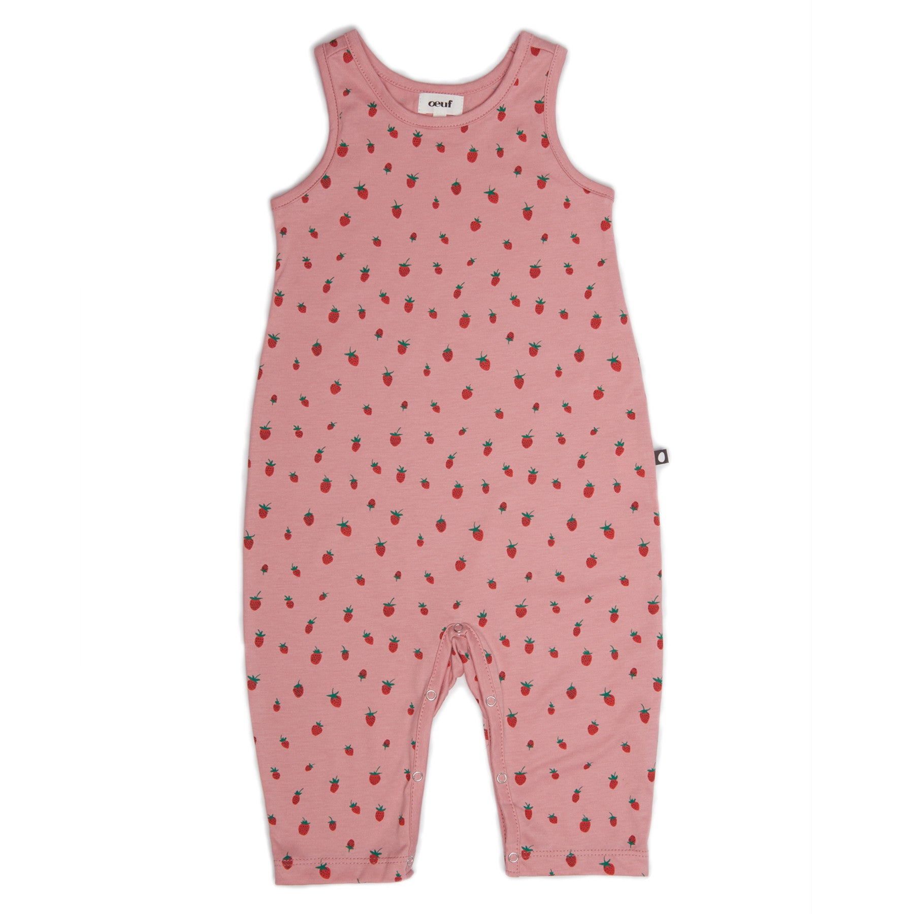 Oeuf Strawberries Sleeveless Jumper - Ladida