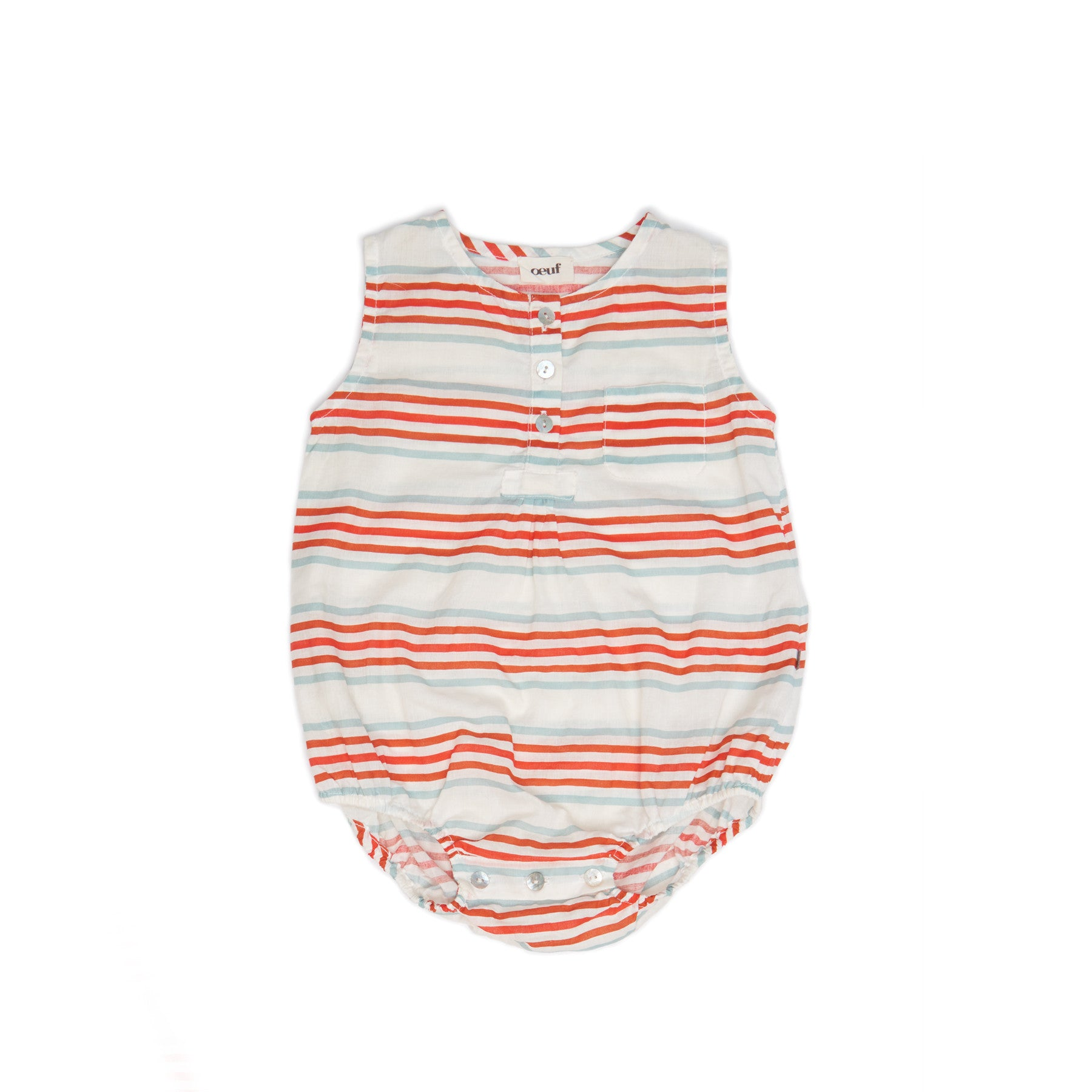 Oeuf Multi Stripes Romper - Ladida