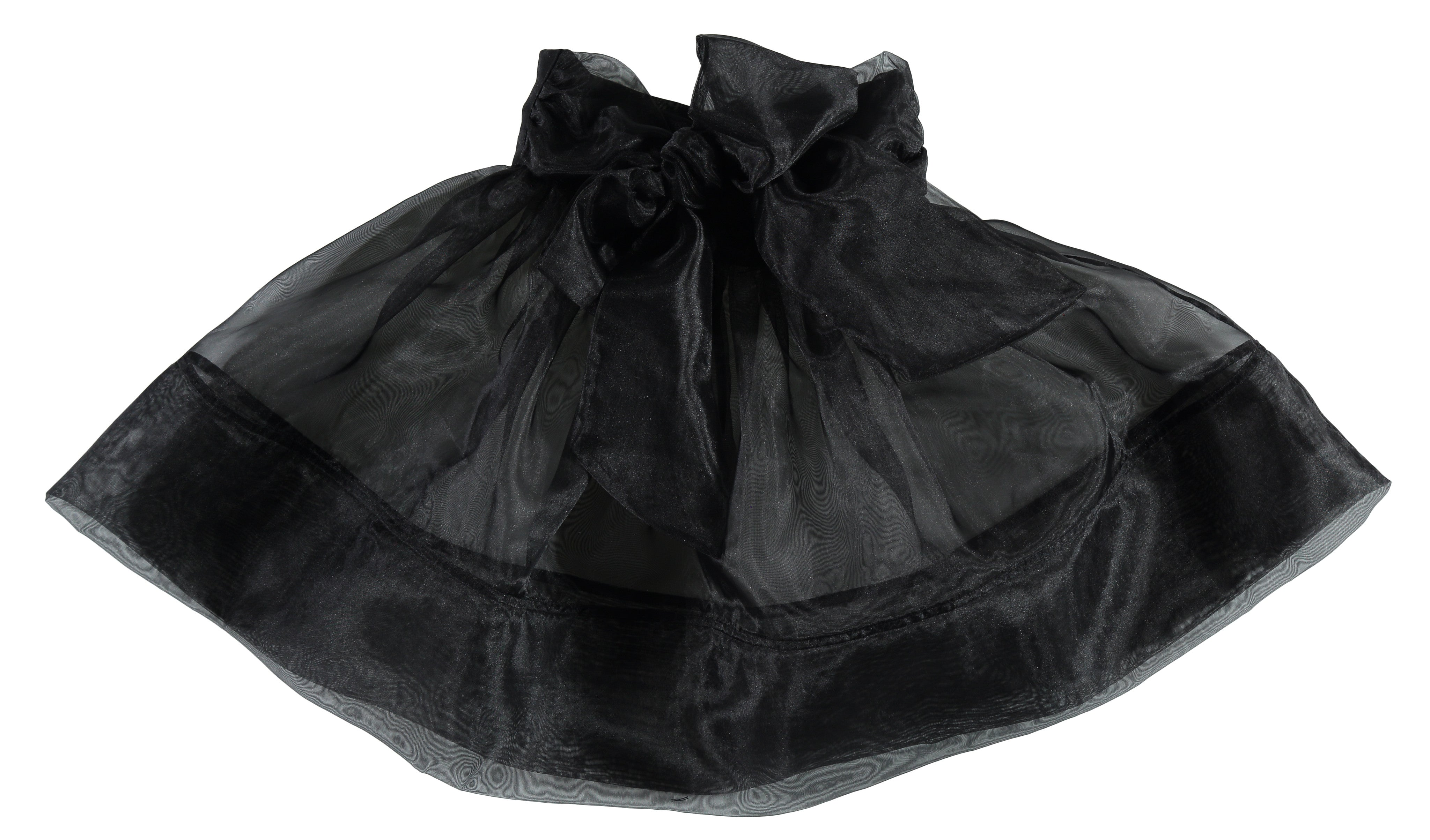 Carbon Soldier Black Flax Snail Skirt - Ladida