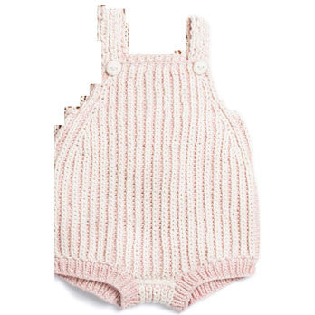 Misha & Puff Pink Sand/Natural Plum Island Playsuit - Ladida