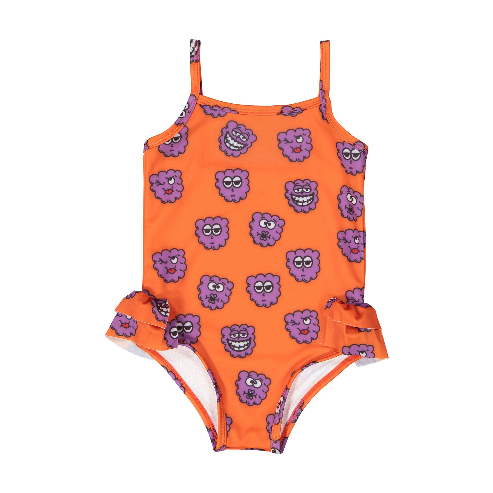 Hugo Loves Tiki  Purple Raspberries Swimsuit