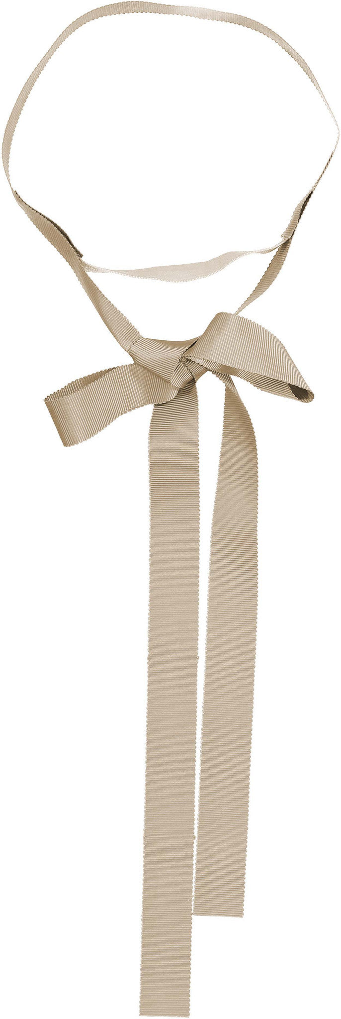Knot Hairbands Taupe Ribbon Band - Ladida