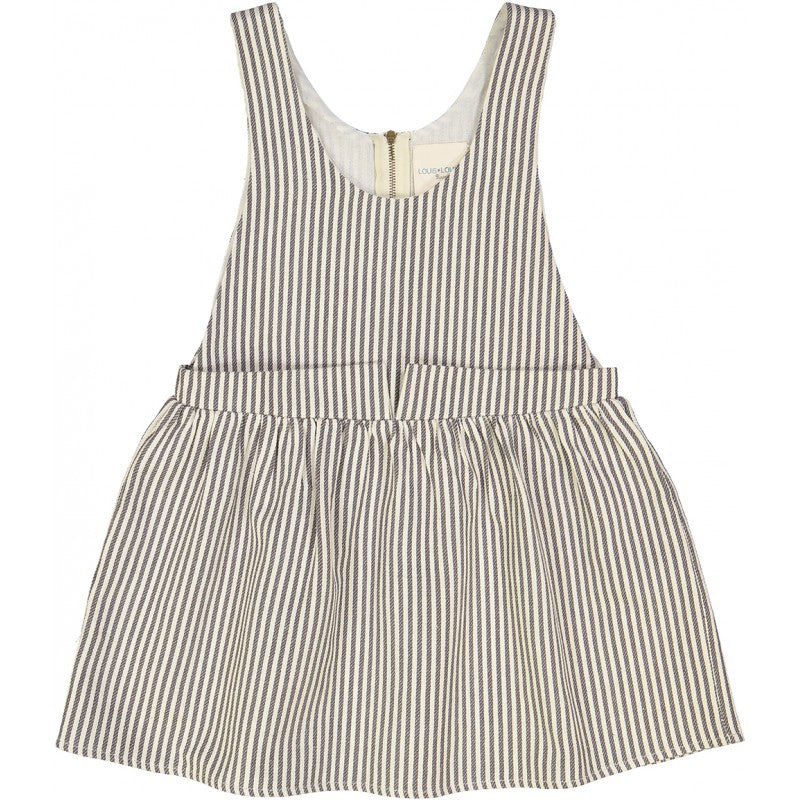 Louis Louise Carbon Stripes Camilla Dress - Ladida