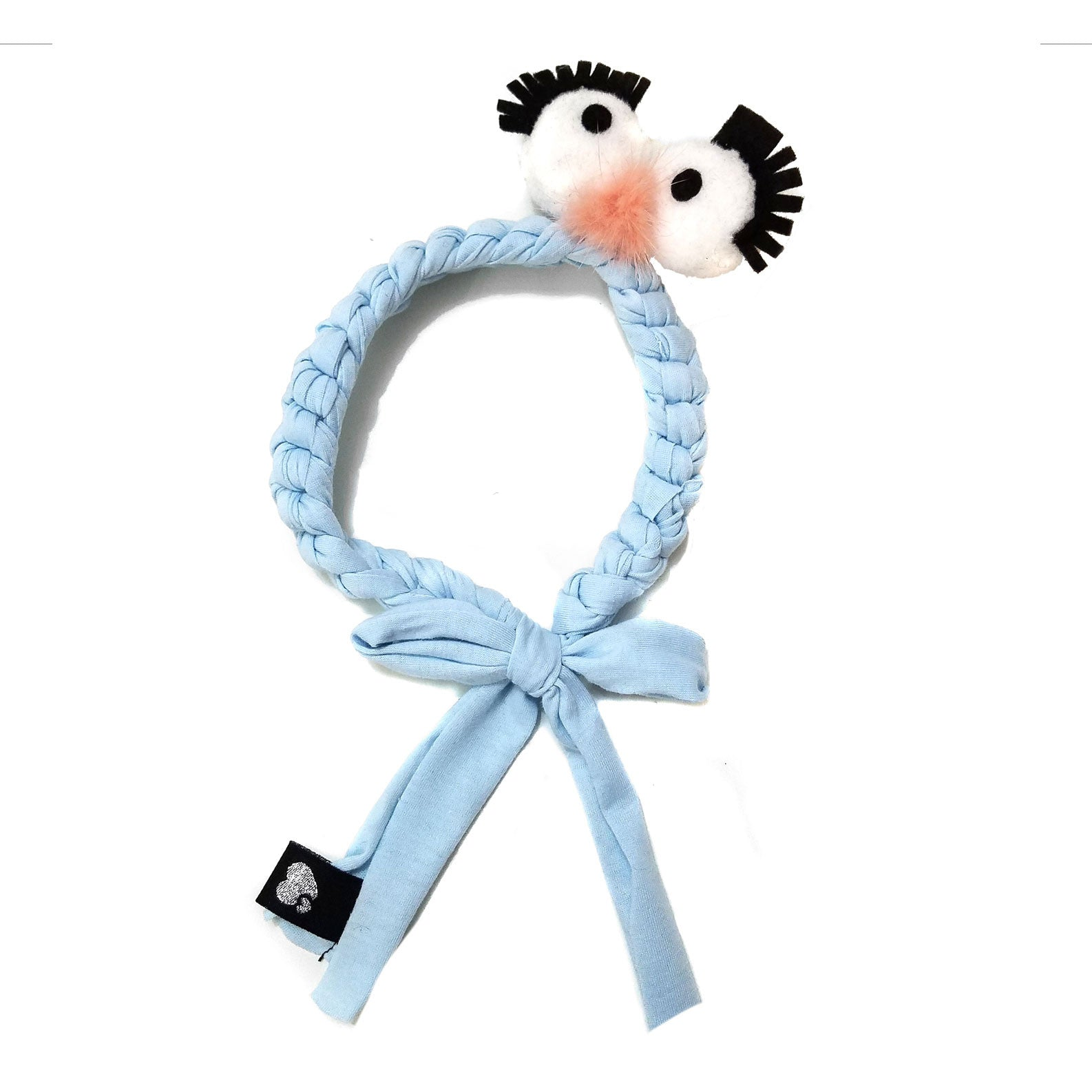 Amour Bows Blue Silly Mini Headband - Ladida