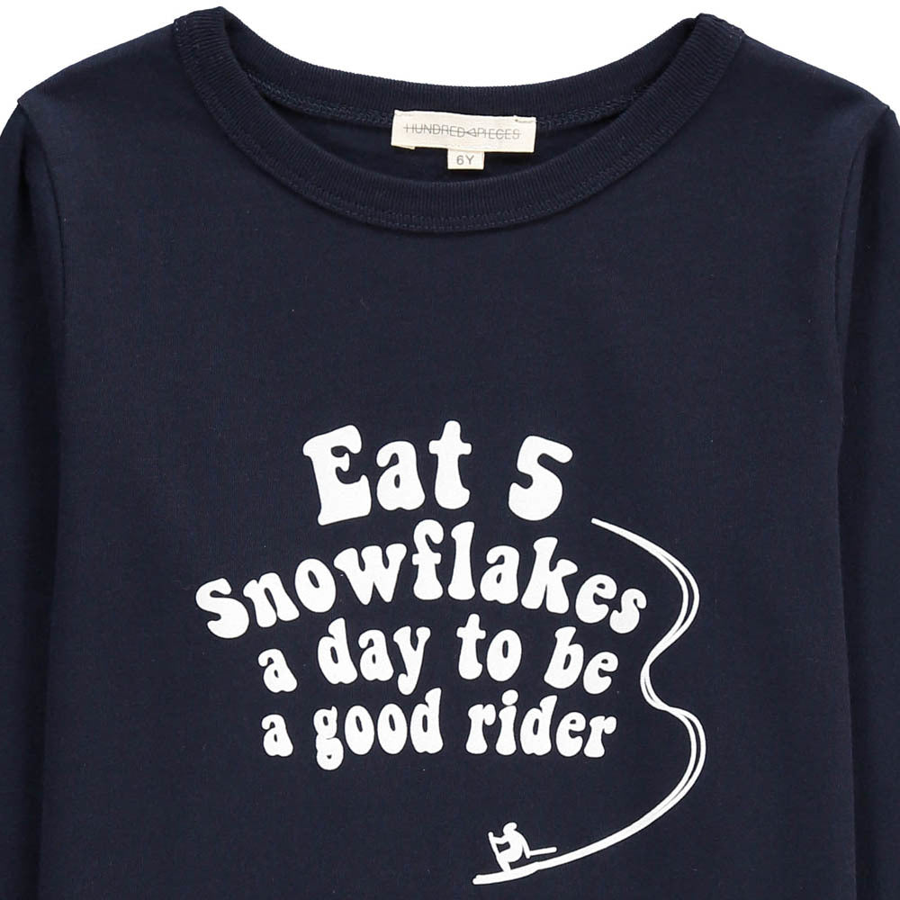 Hundred Pieces Snowflakes Tee - Ladida