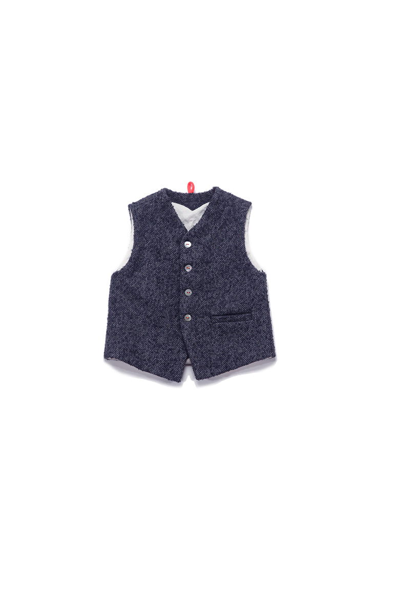 Dagmar Daley Navy Standard Issue Suit Vest