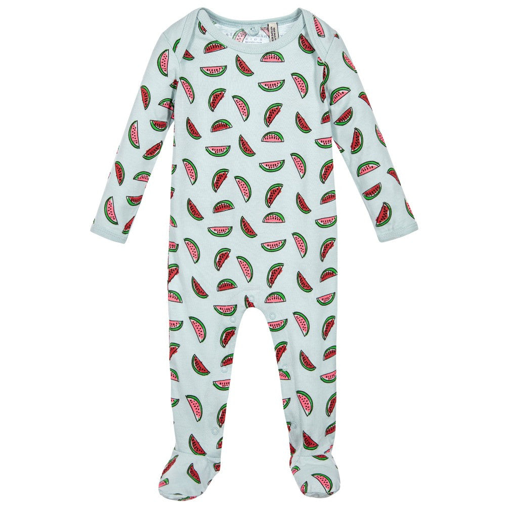 Stella Mint Watermelon Footie - Ladida