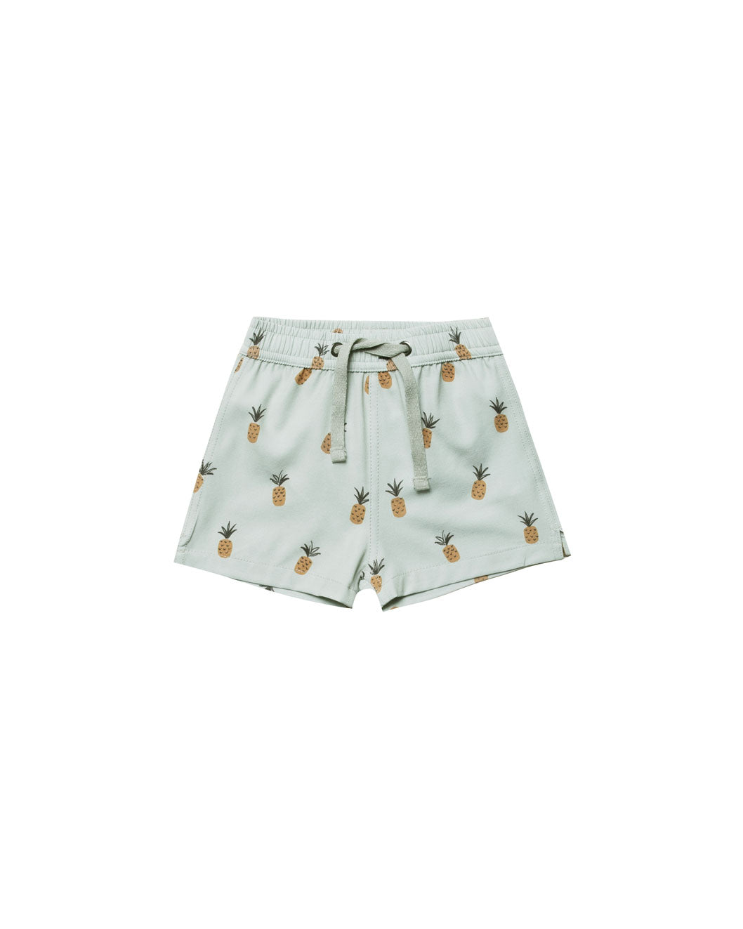 Rylee and Cru Seafoam Pineapples Swim Trunks