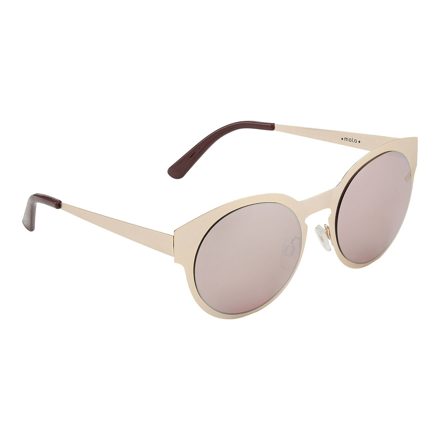 Molo Gold Sunglasses - Ladida