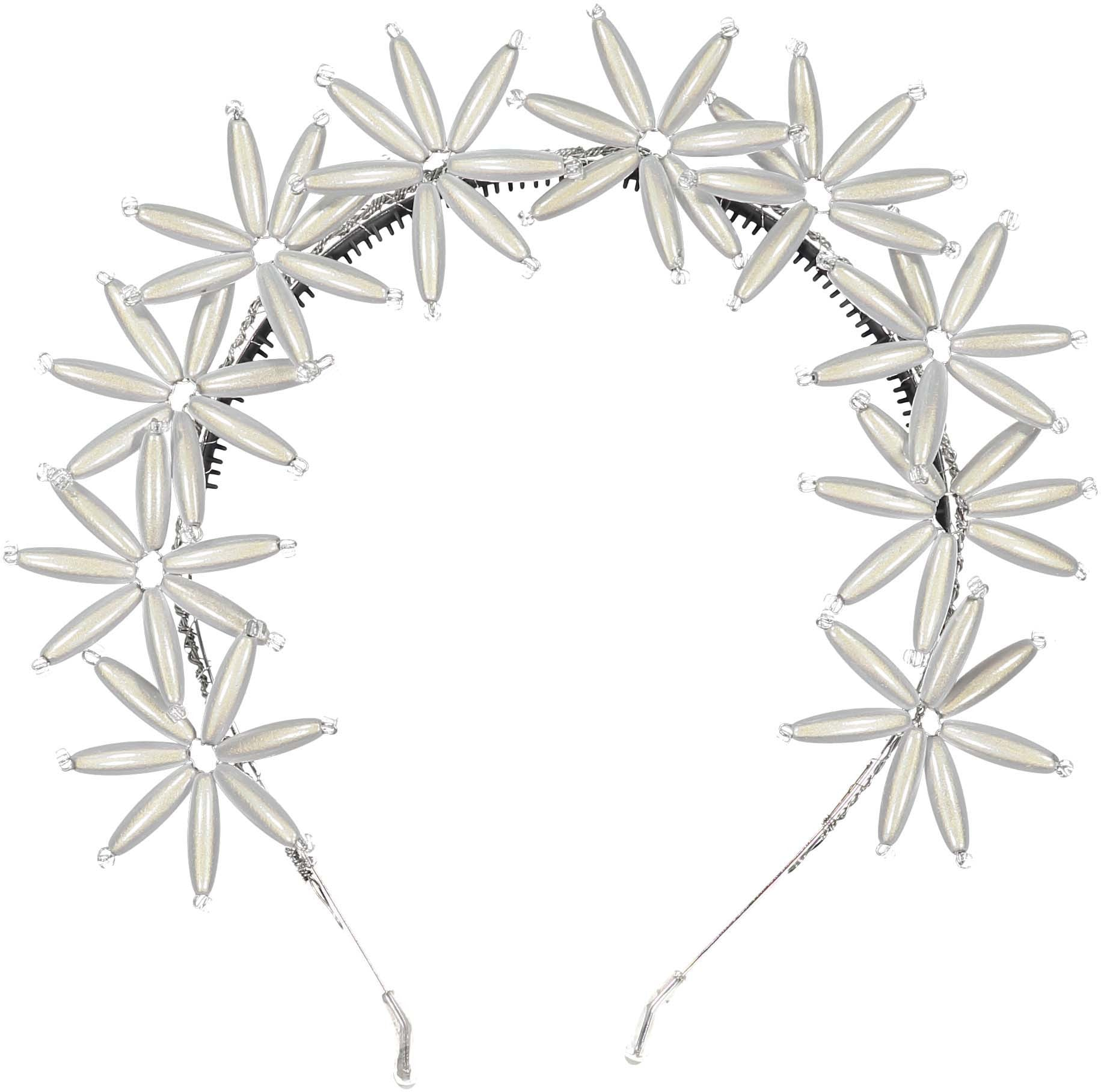 Knot Hairbands White Flower Burst Headband - Ladida