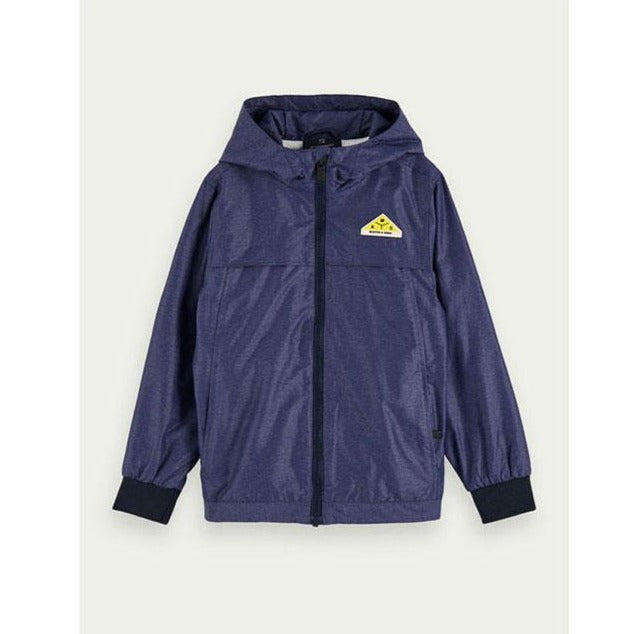 Scotch Shrunk Easy Sports Jacket With Hood