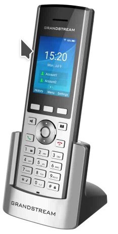 Grandstream WP820 1-Line WiFi Phone