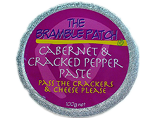 Bramble Patch Cabernet and Cracked Pepper Paste