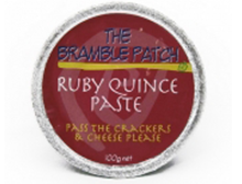 Bramble Patch Ruby Quince Paste