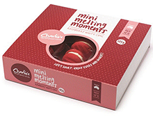 Mini Melting Moments - Raspberry & White Choc 12pc