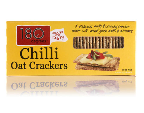 Crackers - Chilli Pepper Oat