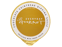 Everyday Gourmet Chocolate Cointreau Dipping Sauce