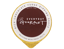 Everyday Gourmet Rich Chocolate Fudge Dipping Sauce