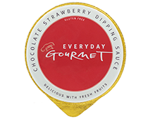 Everyday Gourmet Chocolate Strawberry Dipping Sauce
